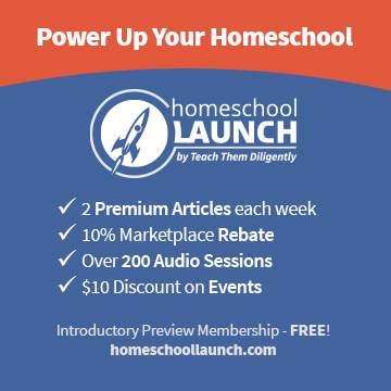 Homeschool Launch Share Features BLUE