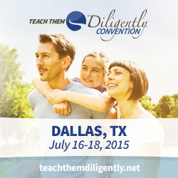 Teach Them Diligently 2015 Dallas 250PX
